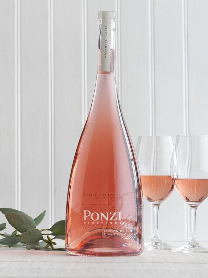 Ponzi vineyards pinot noir rose magnum